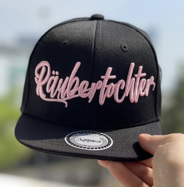 """KIDS-Cap """"Räubertochter"""" schwarz"""