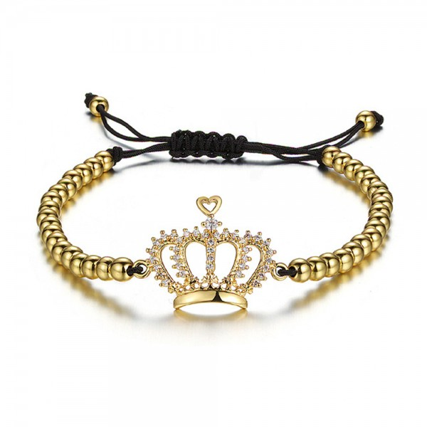Armband - Krone Queen/gold