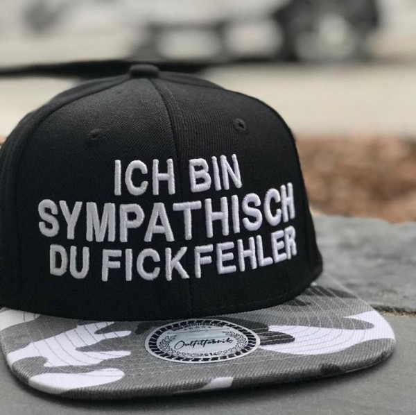 Snapback Cap FICKFEHLER, camouflage