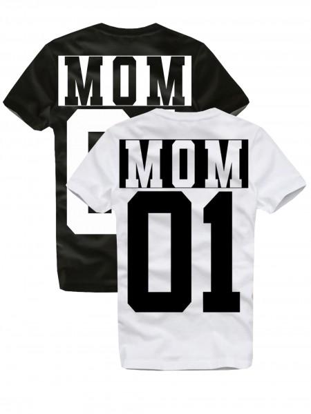Shirt MOM, schwarz oder weiß