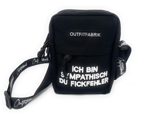 Umhängetasche FiCKFEHLER, schwarz