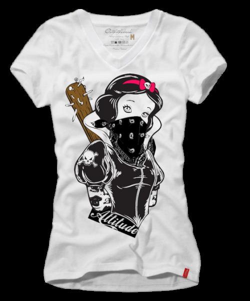 Girls-Shirt KEULE, weiß