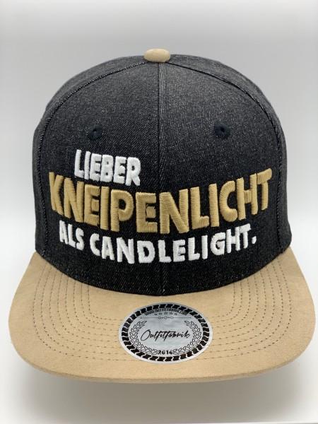 Cap Kneipenlicht beige