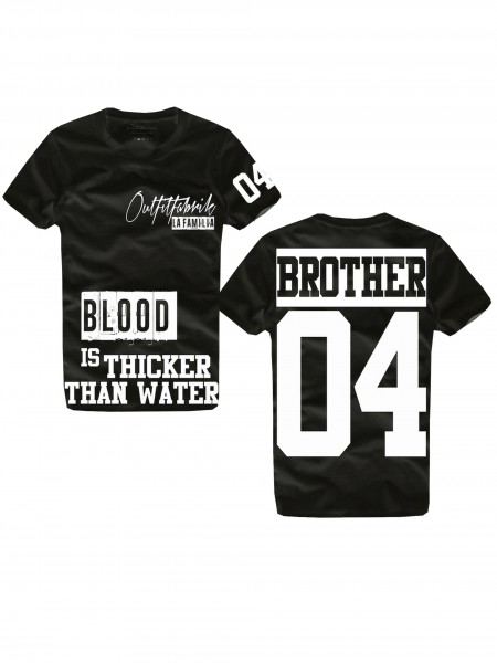 Shirt BROTHER, schwarz