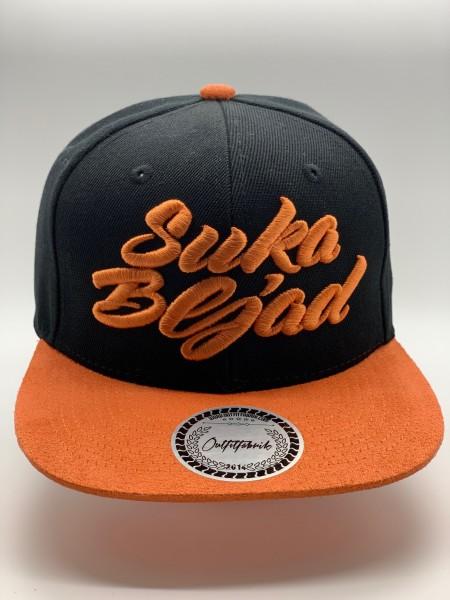 Cap Suka Bljad schwarz orange