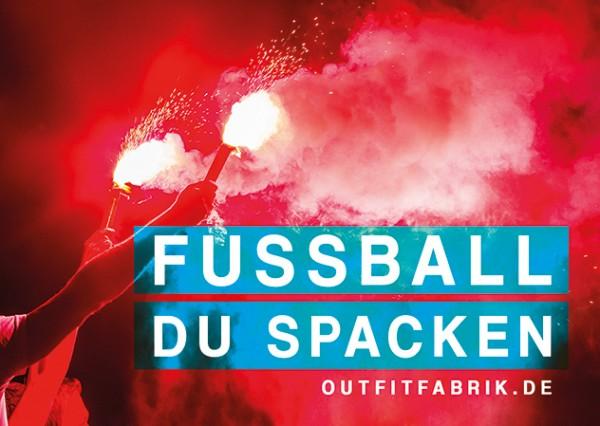 25 Sticker, FUSSBALL DU SPACKEN
