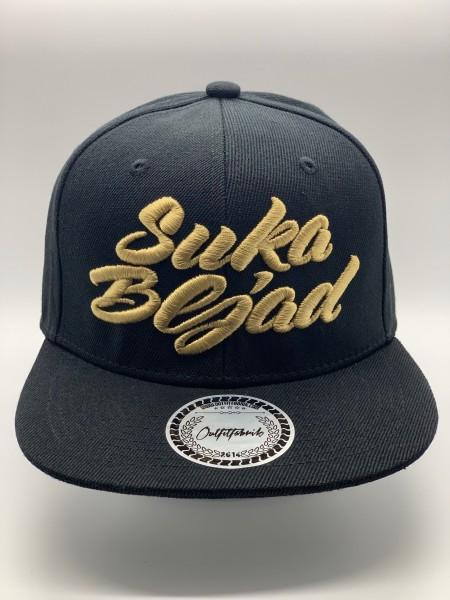 Cap Suka Bljad schwarz gold