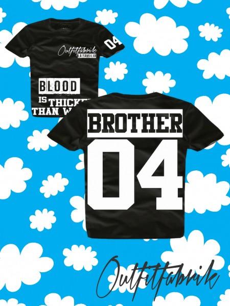 Kindershirt BROTHER, schwarz