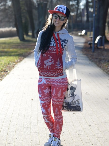 Leggings Outfitfabrik WINTER (Christmas, Xmas, Weihnachten)