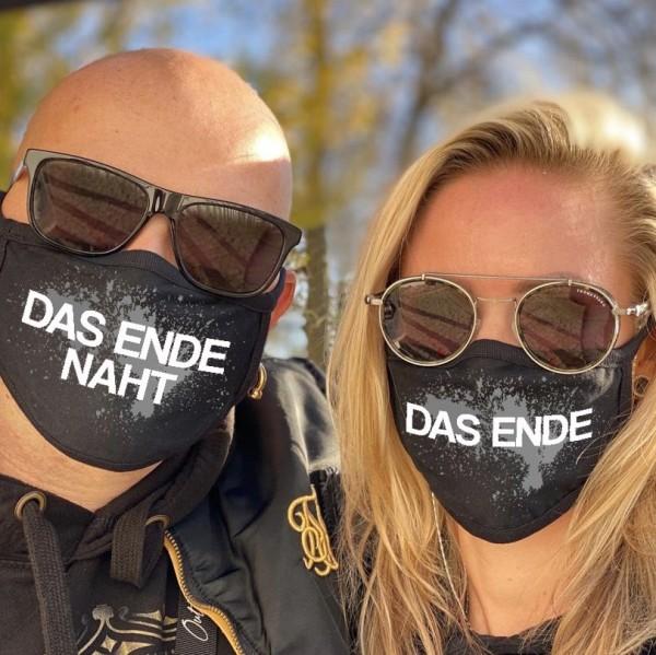 SPAR-SET Nasen-Mund-Masken DAS ENDE und DAS ENDE NAHT