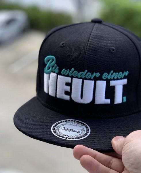 Snapback Cap BIS EINER HEULT, schwarz