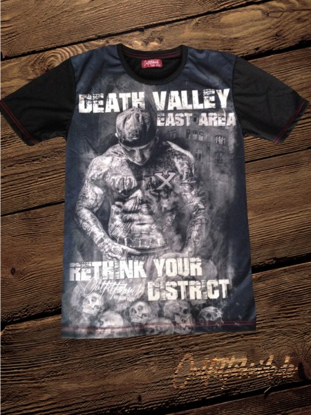 LIMITIERT - Shirt DEATH VALLEY, schwarz
