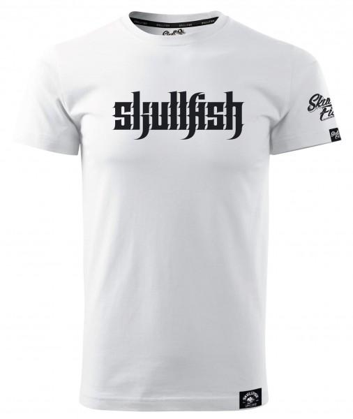 "Shirt ""Skullfish"" in weiß"