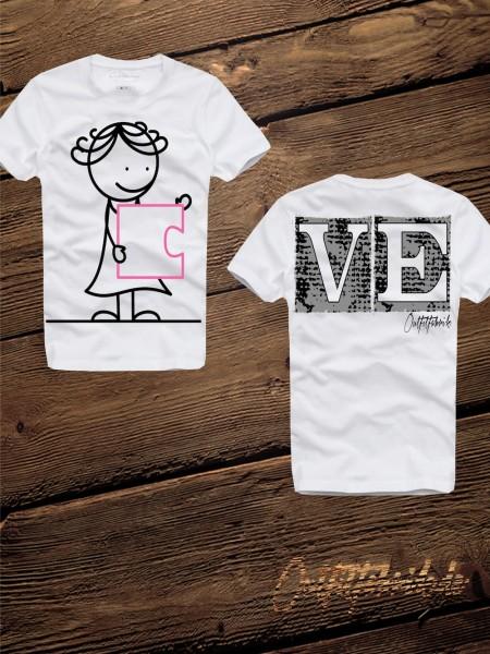 LOVEshirt PUZZLE GIRL