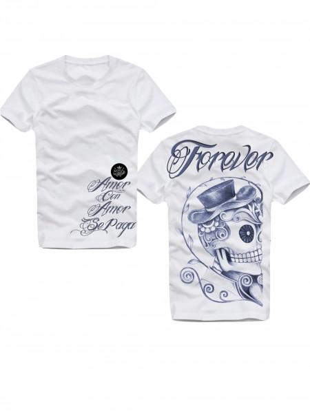 Shirt FOREVER, weiß