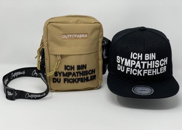 """SPAR-SET """"FICKFEHLER 4"""", Cap + Bag"""