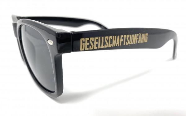 Sonnenbrille, GESELLSCHAFTSUNFÄHIG, black