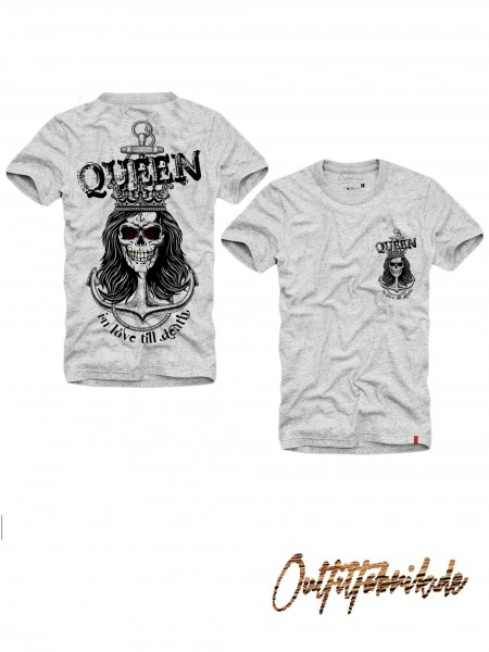 Shirt QUEEN - ANCHOR, grau