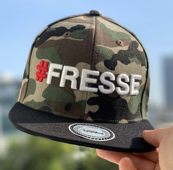 Cap # FRESSE, camouflage