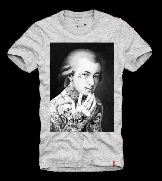 Shirt MOZART, grau