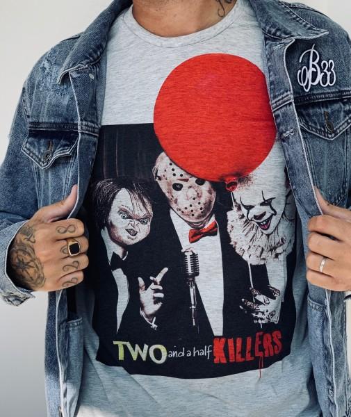 Shirt TWO AND A HALF KILLERS, grau