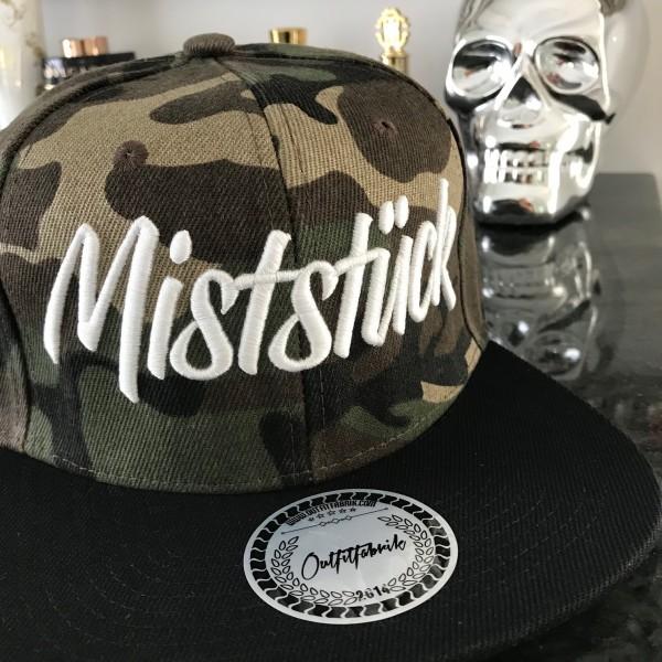 Snapback Cap MISTSTÜCK, camouflage