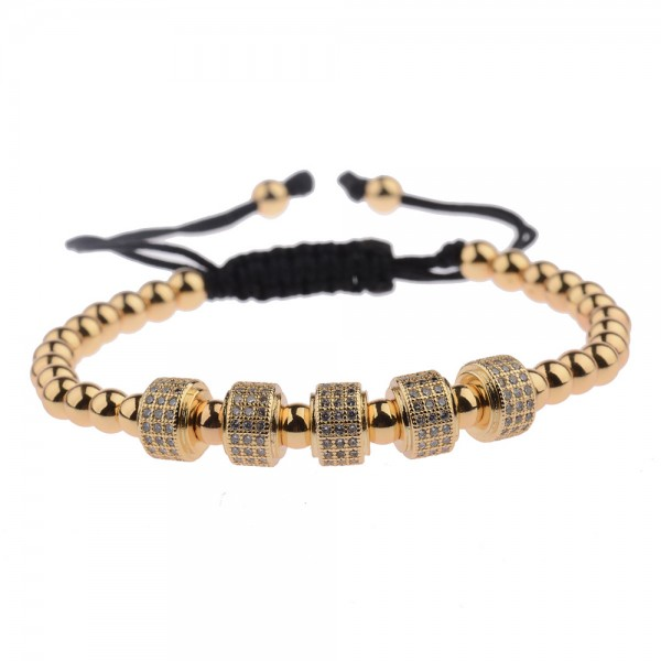 Armband - Ringe/gold