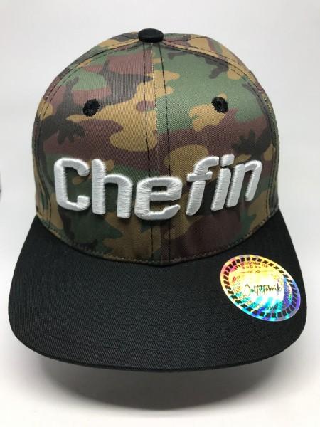 KIDS-Cap CHEFIN, camouflage,grau