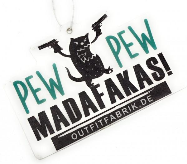 Duftbaum PEW PEW MADAFAKAS
