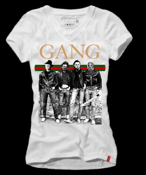 Girls-Shirt GANG, weiß