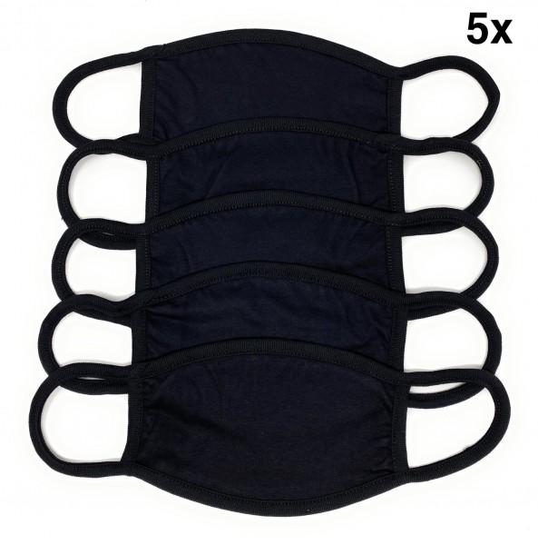 """SPAR-SET Nasen-Mund-Masken, 5 STÜCK """"Blank oval"""""""