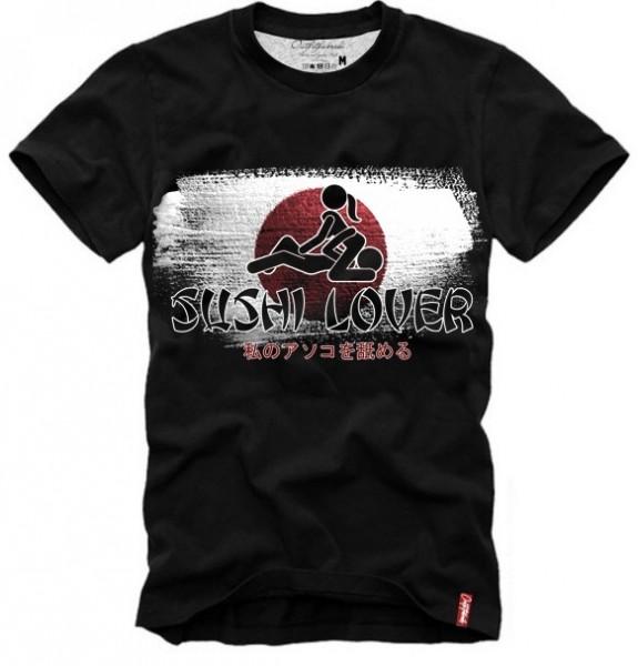 Shirt SUSHI LOVER, schwarz