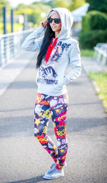 Leggings Outfitfabrik BOOM