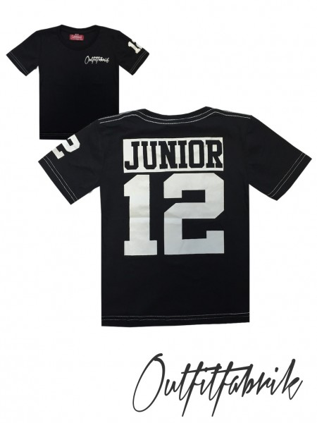 Kindershirt JUNIOR, schwarz