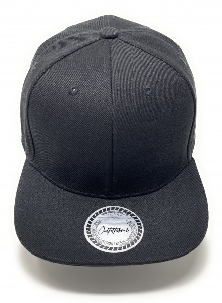 Cap BLANKO in schwarz