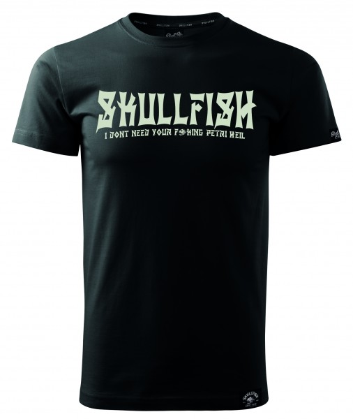 """Shirt """"Skullfish"""" in schwarz"""