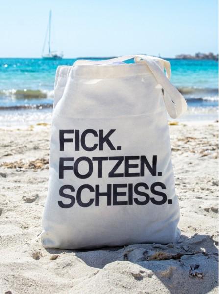 Shopping Bag, FICK.FOTZEN.SCHEISS