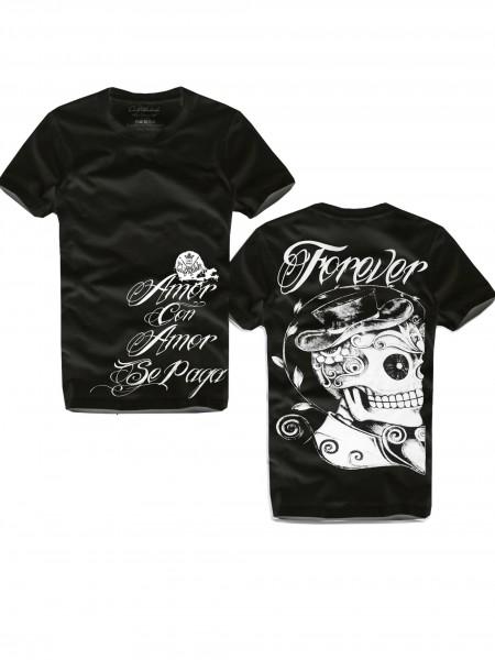 Shirt FOREVER, schwarz