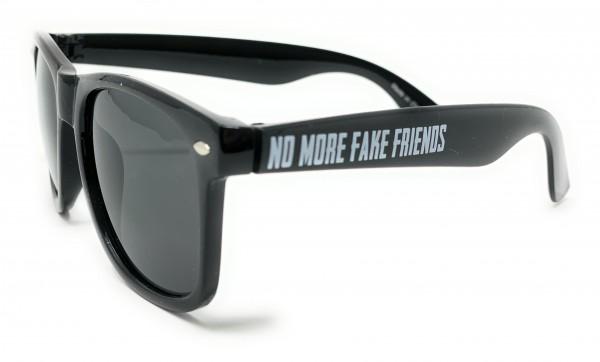 Sonnenbrille, NO MORE FAKE FRIENDS, black