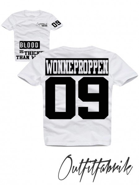 Kindershirt WONNEPROPPEN, weiß