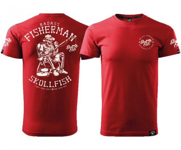"Shirt ""Fisherman"" in rot"