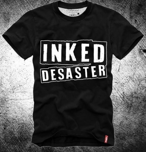 """Shirt """"INKED DESASTER"""" schwarz"""