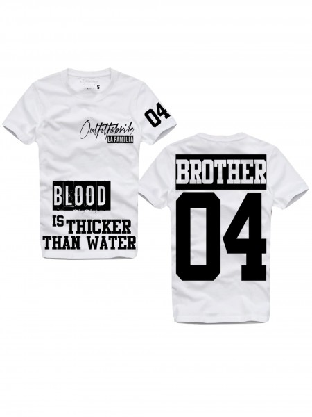 Shirt BROTHER, weiß